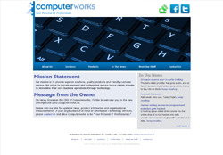 Screenshot of ComputerWorks.us Website
