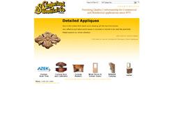 Screenshot of the Cumberland Woodcraft Website