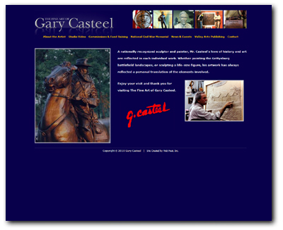 Gary Casteel Web Design and Client Transfer
