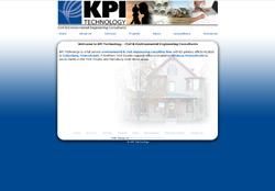 Website Design for KPI Technology