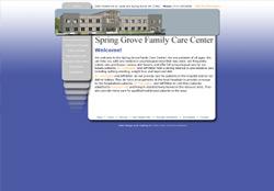 Official Website for The Spring Grove Family Care Center