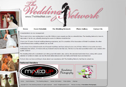 Web Design and Hosting for The Wedding Network in Pennsylvania