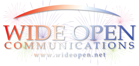 Fireworks at Wide Open Communications on 4th of July