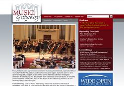 Music, Gettysburg! Portfolio Image