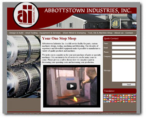 ABBInd.com developed by Wide Open Communications