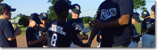 New Oxford Rays Baseball Banner