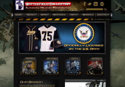 Battlefield Collection Website by Wide Open Communications