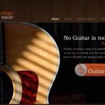 Screenshot for AutumnRidgeGuitar.com