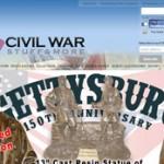 Screenshot for CivilWarStuff.com