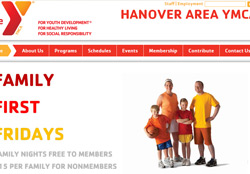 Screenshot of HanoverYMCA.org